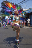 Tobas Dancer - Arica, Chile Royalty Free Stock Image