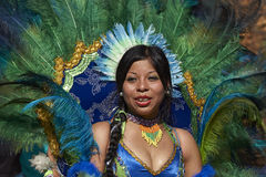 Tobas Dancer - Arica, Chile Royalty Free Stock Images