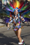 Tobas Dancer - Arica, Chile Royalty Free Stock Photo