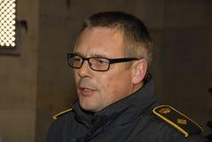 TOBEN MOLGAARD JENSEN CHIEF POLICE INSPECTOR Royalty Free Stock Photo