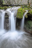 Toberia waterfall, Basque Country Stock Photos