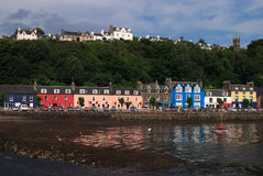 Шотландия, Tobermory, остров обдумывает Стоковая Фотография RF