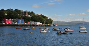 Tobermory Bay Tobermory Bay, Mull, Argll And Bute, Scotland, U.K Royalty Free Stock Photo