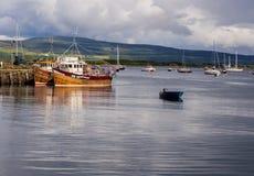 Tobermory boats Stock Photography