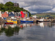 Tobermory boats Royalty Free Stock Images