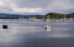 Tobermory boats Stock Photo