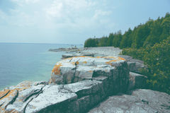 Tobermory Cliffs Stock Photography