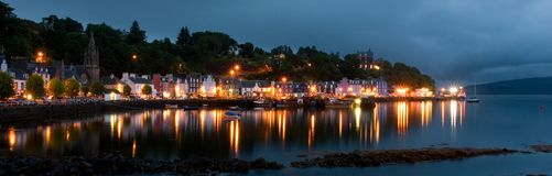 Tobermory, Ecosse Photos stock