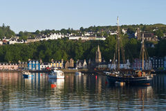 Tobermory harbor Stock Images