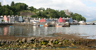 Tobermory harbour on Isle of Mull Royalty Free Stock Photography