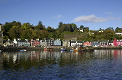 Tobermory Harbour Royalty Free Stock Photo