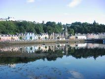 Tobermory, isla de reflexiona sobre Fotografía de archivo libre de regalías