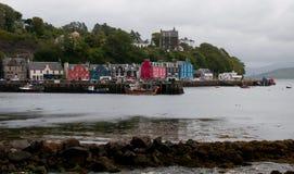 Tobermory Isle av Mull fotografering för bildbyråer