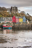Tobermory on the Isle of Mull in Scotland. Royalty Free Stock Images