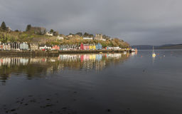 Tobermory on the Isle of Mull in Scotland. Royalty Free Stock Photography
