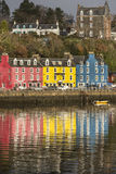 Tobermory on the Isle of Mull in Scotland. Stock Photos