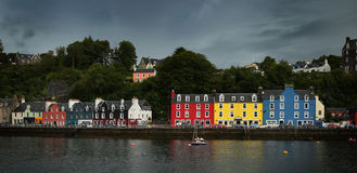 Tobermory on isle of Mull Stock Images