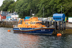 Tobermory Lifeboat Stock Image