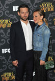 Tobey Maguire & Jennifer Meyer Stock Photography