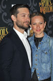 Tobey Maguire & Jennifer Meyer Stock Images