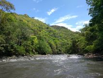 Tobia`s rivers. Rivers of Tobia where you can to do extreme sports royalty free stock photo