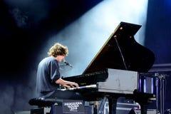 Tobias Jesso Jr (Musiker) führt an Primavera-Ton 2015 durch Lizenzfreie Stockfotos