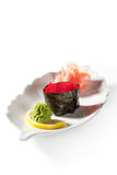 Tobiko Gunkan Royalty Free Stock Photography