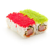 Tobiko Spicy Roll Stock Image