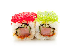 Tobiko Spicy Roll Royalty Free Stock Image