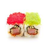 Tobiko Spicy Roll Stock Photo