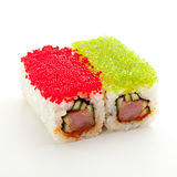 Tobiko Spicy Roll Stock Photos