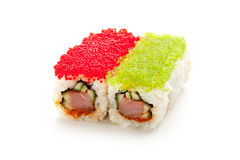 Tobiko Spicy Roll Royalty Free Stock Photo
