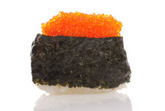 Tobiko sushi Royalty Free Stock Photography