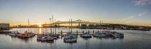Tobin Bridge Royalty Free Stock Images