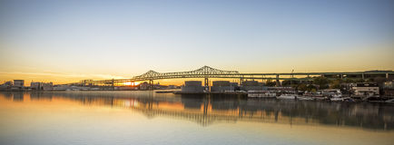 Tobin Bridge Royalty Free Stock Photography