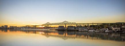 Tobin Bridge royalty free stock photography