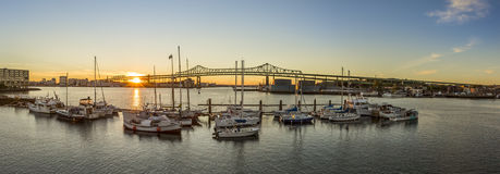 Tobin Bridge Royalty Free Stock Photos