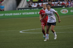 Tobin Heath & Christine Nairn Royalty Free Stock Photography