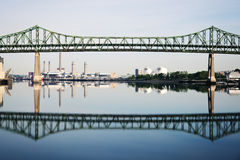 Tobin Memorial Bridge Stock Image