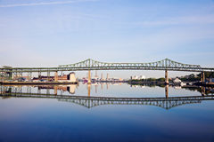 Tobin Memorial Bridge Royalty Free Stock Image