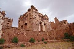 Tobius在阿特拉斯山脉的` s qasba在摩洛哥 免版税图库摄影