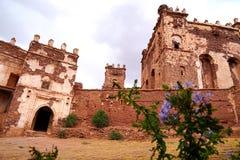 Tobius在阿特拉斯山脉的` s qasba在摩洛哥 免版税库存照片