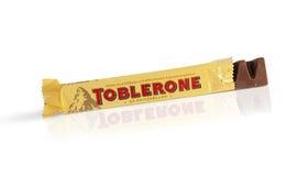 Toblerone酒吧  免版税库存照片