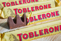 Tobleronechocoladerepen Stock Foto