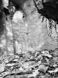 Toblino för höstlandskapsjö Royaltyfri Bild