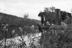 toblino Landscape湖  免版税库存图片