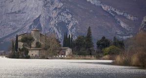 Toblino Schloss Lizenzfreies Stockbild
