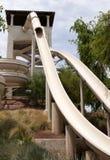 Tobogán acuático del hotel Imagenes de archivo