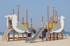 Tobogan w plaży Zdjęcie Royalty Free