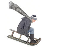 Toboggan Royalty Free Stock Image